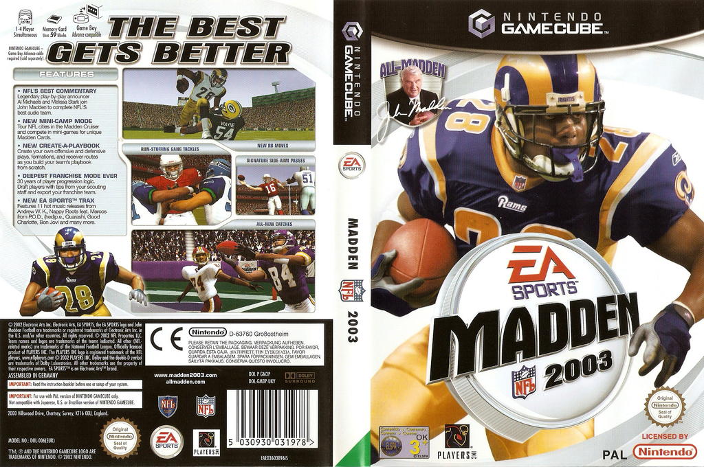 Madden NFL 2003 Wii coverfullHQ (GM3P69)