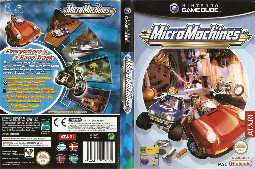 Micro Machines Wii coverfullHQ (GMOP70)