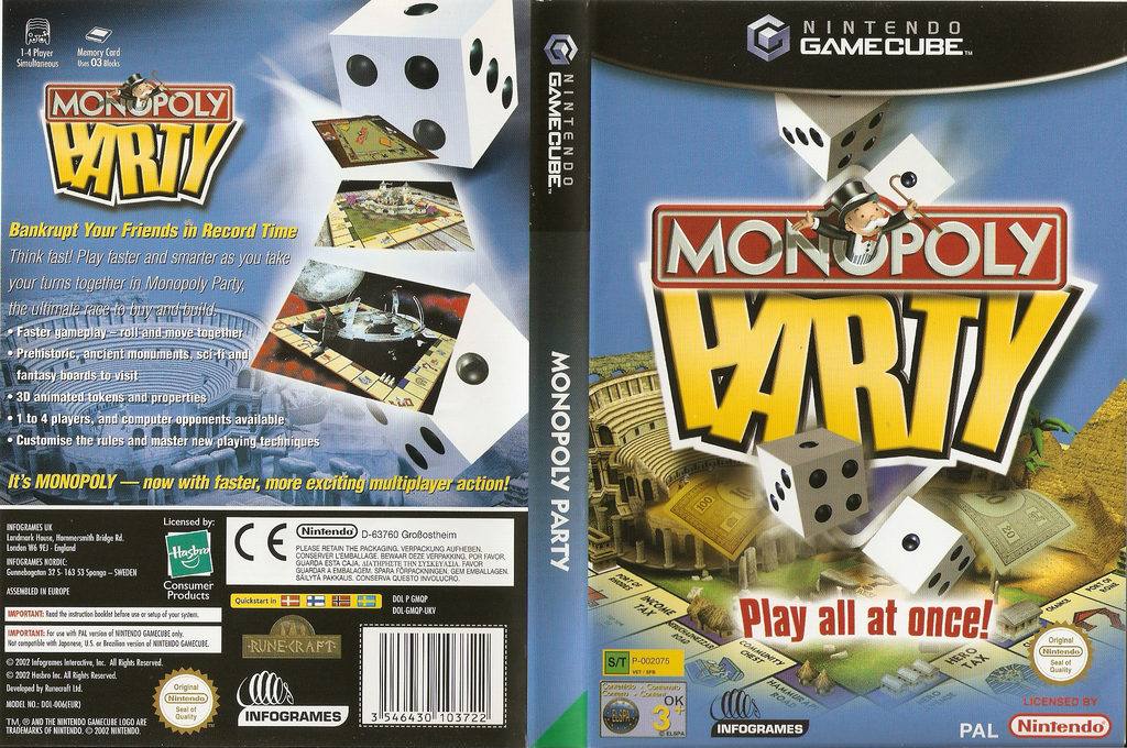 Monopoly Party Wii coverfullHQ (GMQP70)