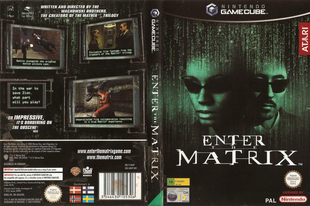 Enter The Matrix Wii coverfullHQ (GMXP70)