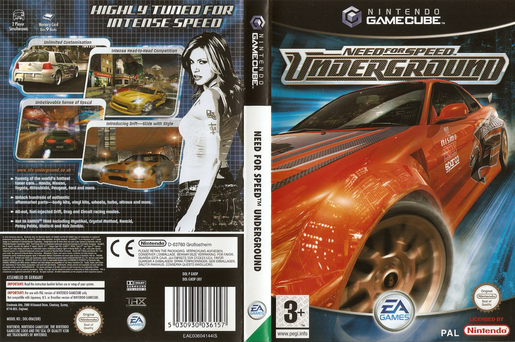 Need for Speed: Underground Wii coverfullHQ (GNDP69)