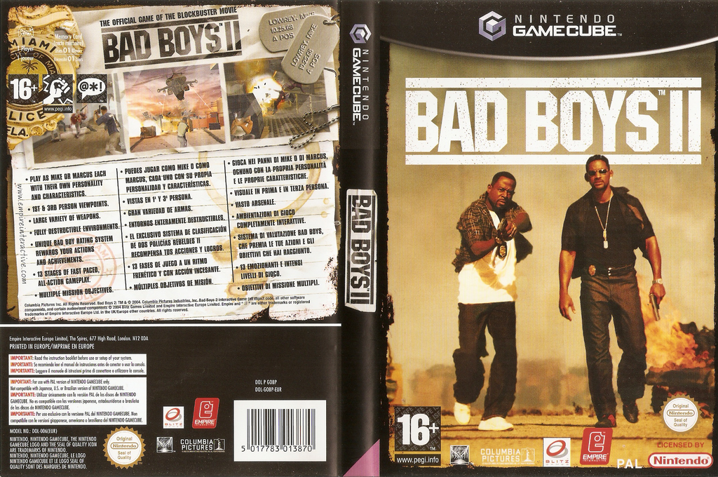 Bad Boys II Wii coverfullHQ (GOBP7N)