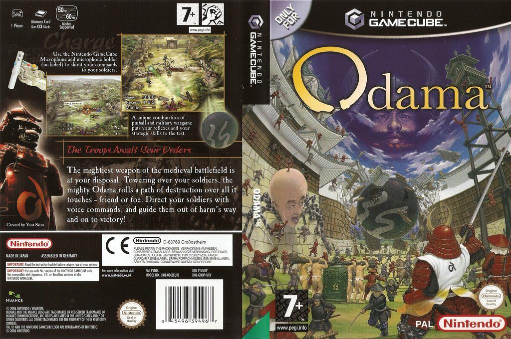 Odama Wii coverfullHQ (GOOP01)