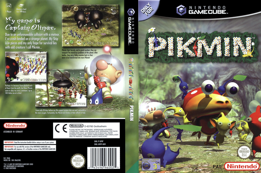 Pikmin Array coverfullHQ (GPIP01)