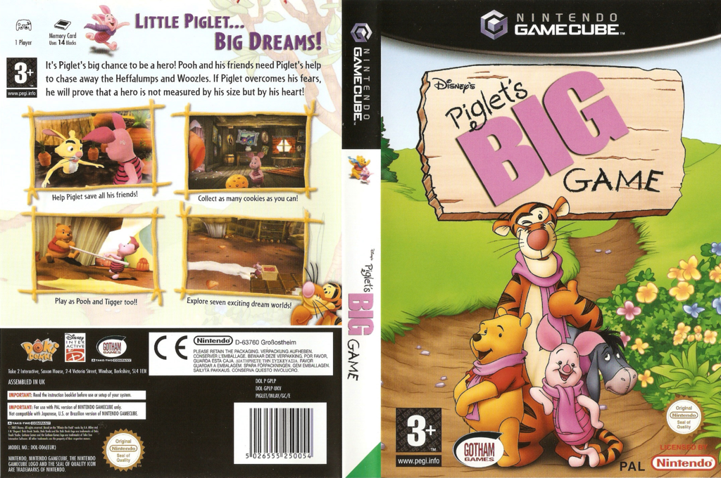 Piglet's Big Game Wii coverfullHQ (GPLP9G)