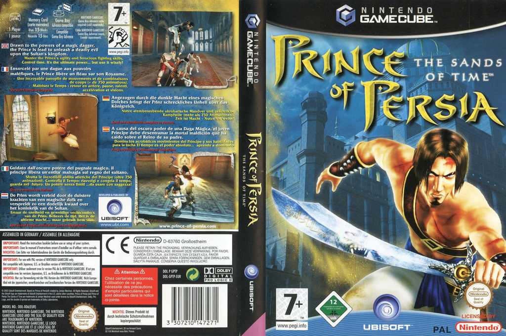 Prince of Persia: The Sands of Time Array coverfullHQ (GPTP41)
