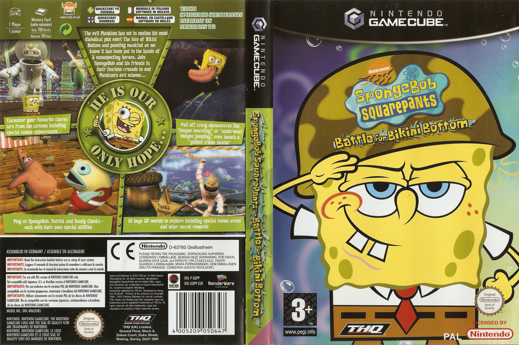 Opinion you Battle bikini bottom cheat ps2 spongebob squarepants this rather
