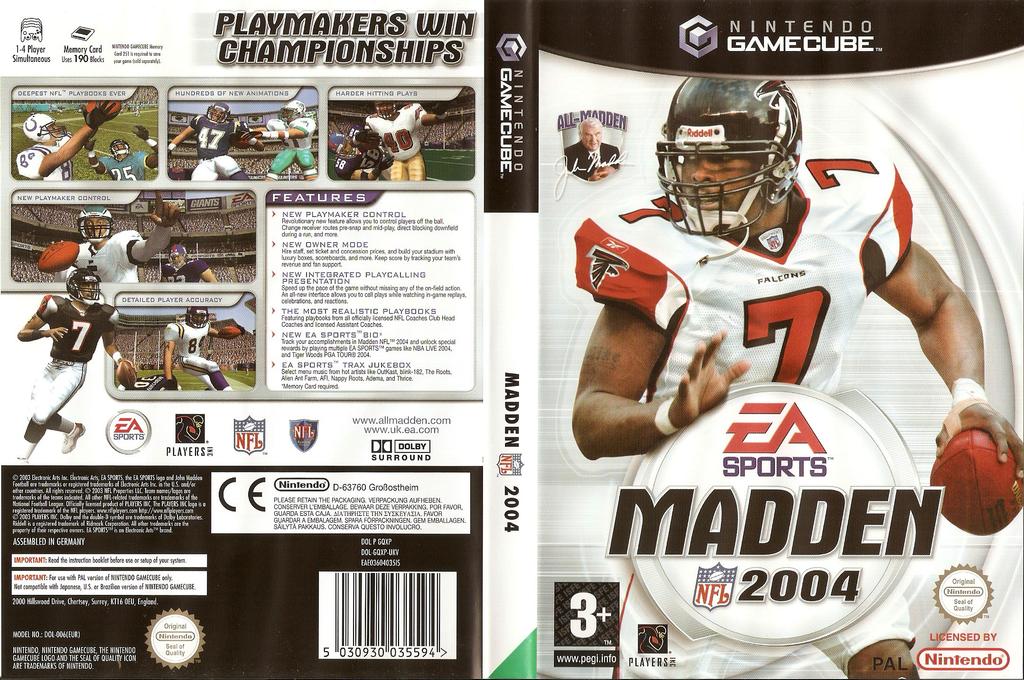Madden NFL 2004 Array coverfullHQ (GQXP69)