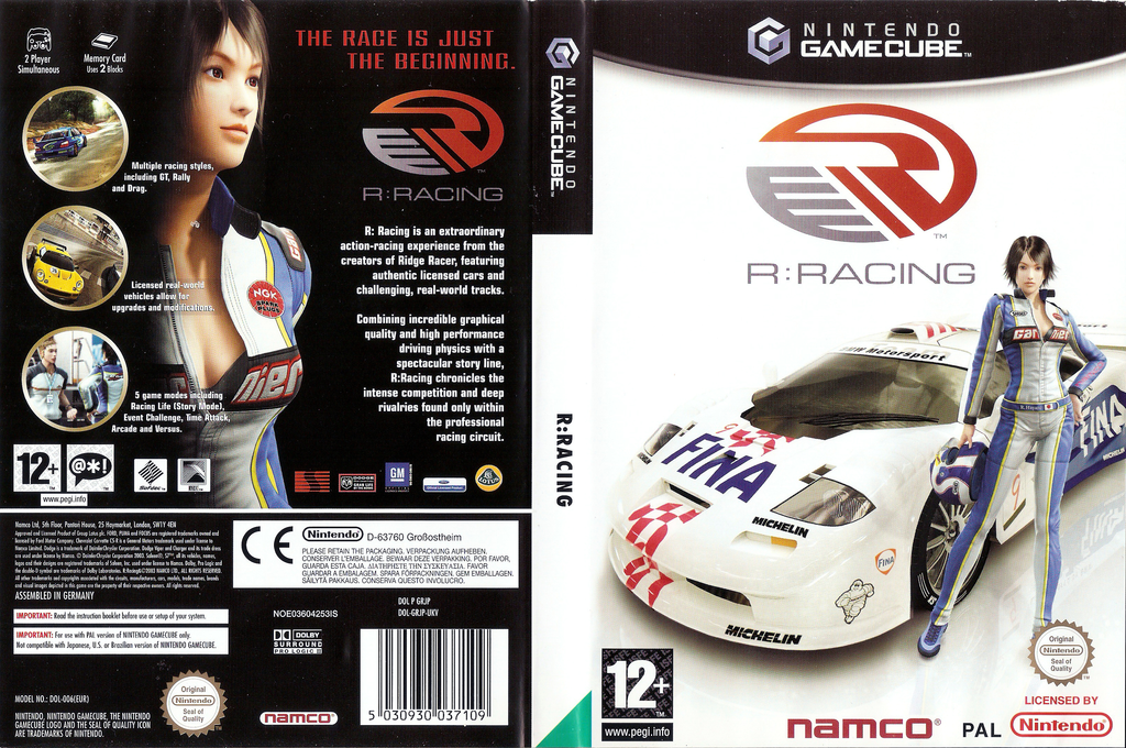 R: Racing Wii coverfullHQ (GRJP69)