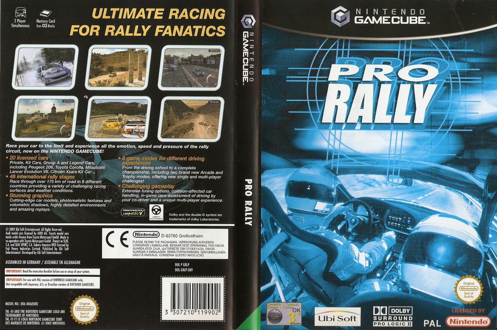 Pro Rally Wii coverfullHQ (GRLP41)