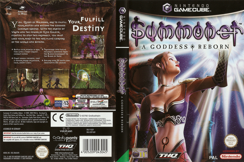 Summoner: A Goddess Reborn Wii coverfullHQ (GS2P78)