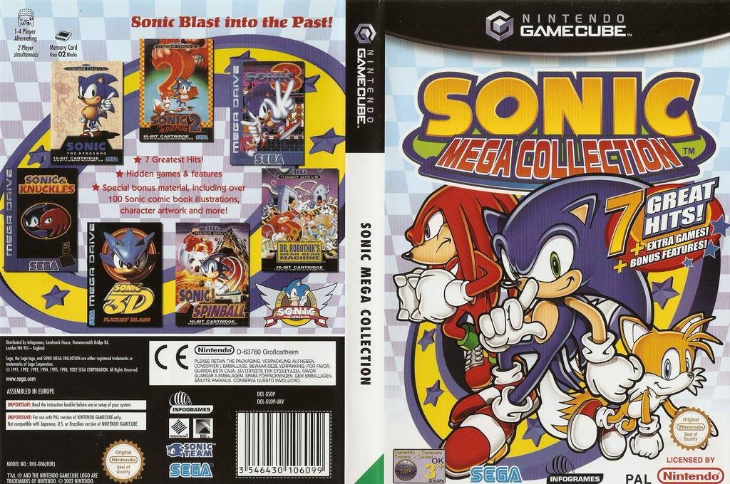Sonic Mega Collection Wii coverfullHQ (GSOP8P)