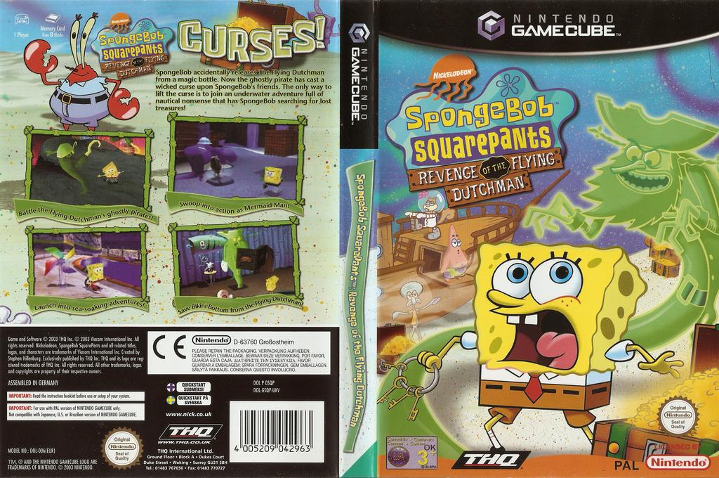 SpongeBob SquarePants: Revenge of the Flying Dutchman Wii coverfullHQ (GSQP78)
