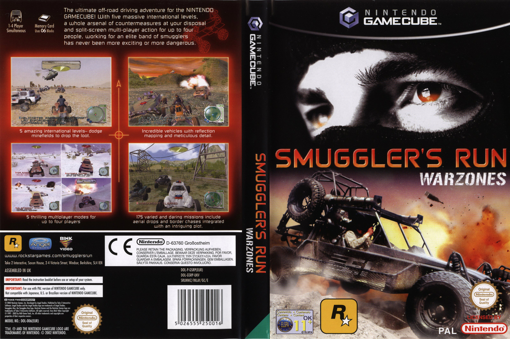 Smuggler's Run:Warzones Wii coverfullHQ (GSRP7S)