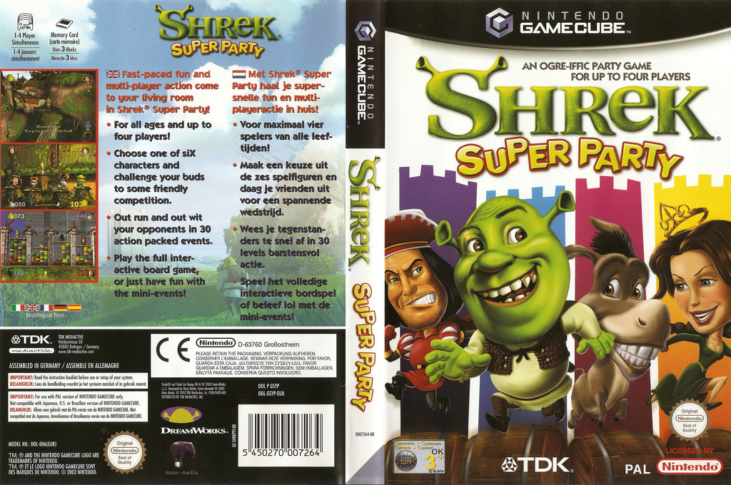Shrek: Super Party Wii coverfullHQ (GSYP6S)