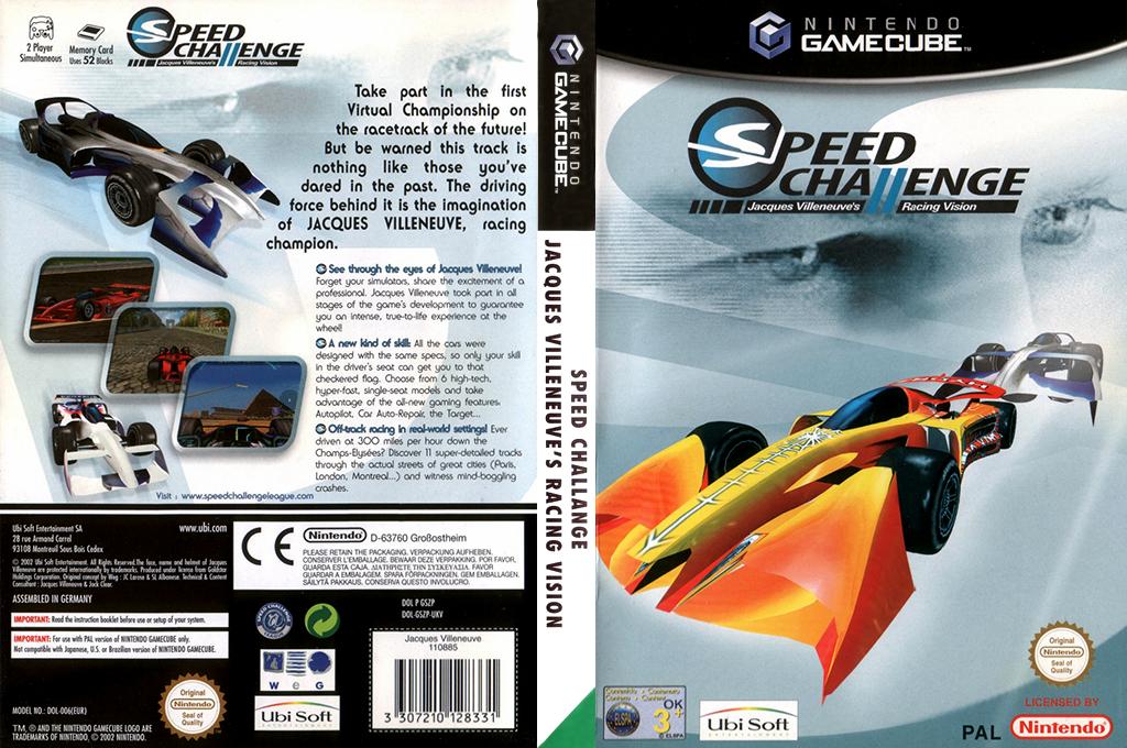 Speed Challenge: Jacques Villeneuve Racing Vision Array coverfullHQ (GSZP41)