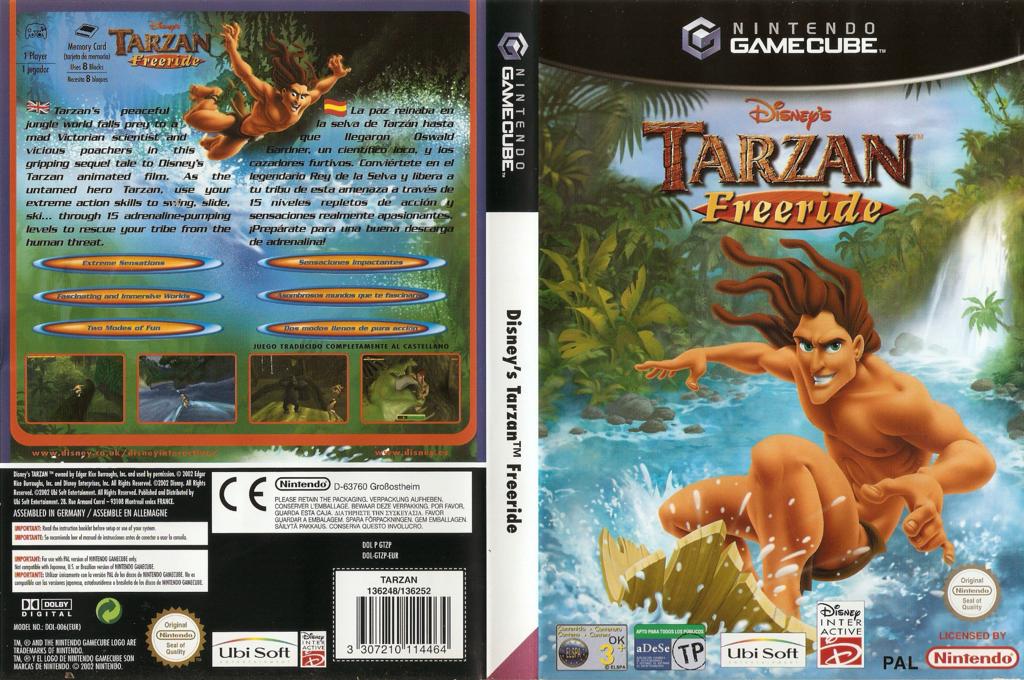 Tarzan Freeride Wii coverfullHQ (GTZP41)