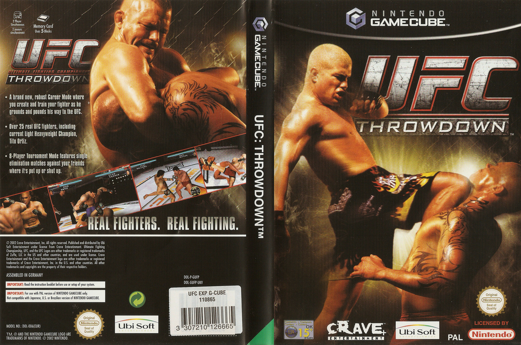 UFC: Throwdown Wii coverfullHQ (GUFP4Z)