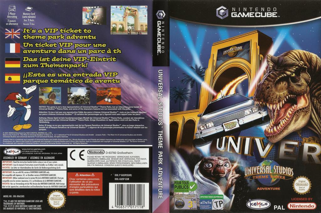 Universal Studios Theme Park Adventure Wii coverfullHQ (GUSP7F)