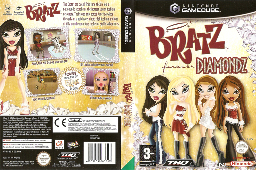 Bratz Forever Diamondz Wii coverfullHQ (GVDP78)
