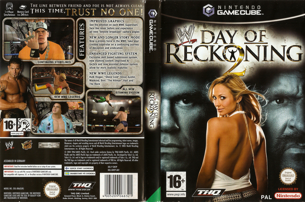 WWE Day of Reckoning 2 Wii coverfullHQ (GW2P78)