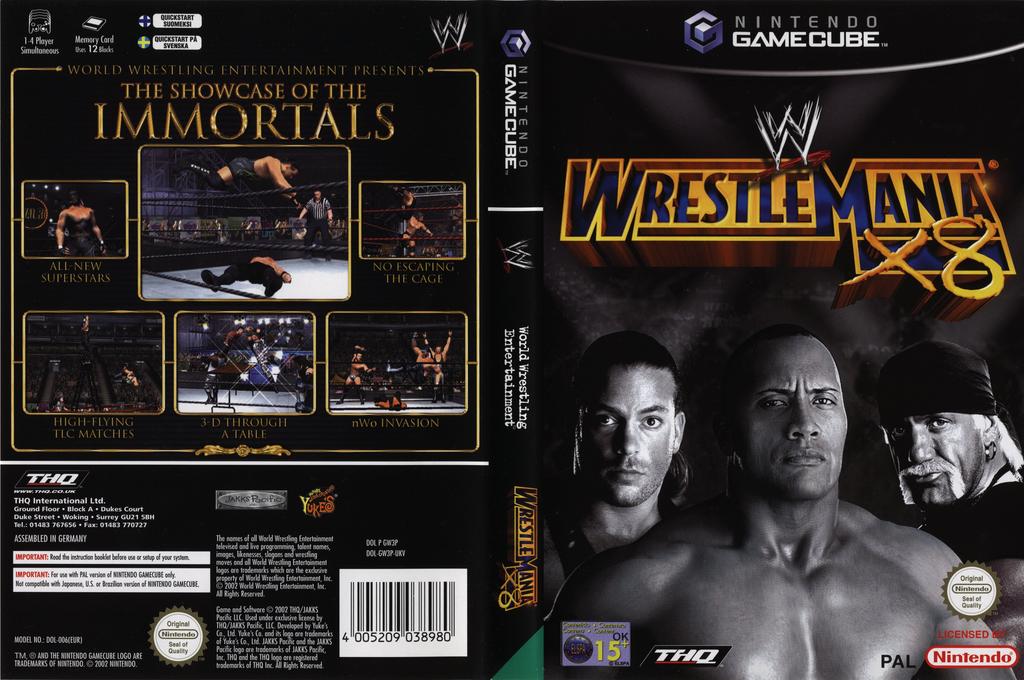 WWE Wrestlemania X8 Wii coverfullHQ (GW3P78)