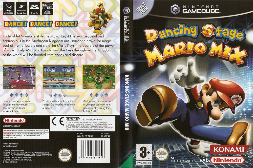 Dancing Stage Mario Mix Wii coverfullHQ (GWZP01)