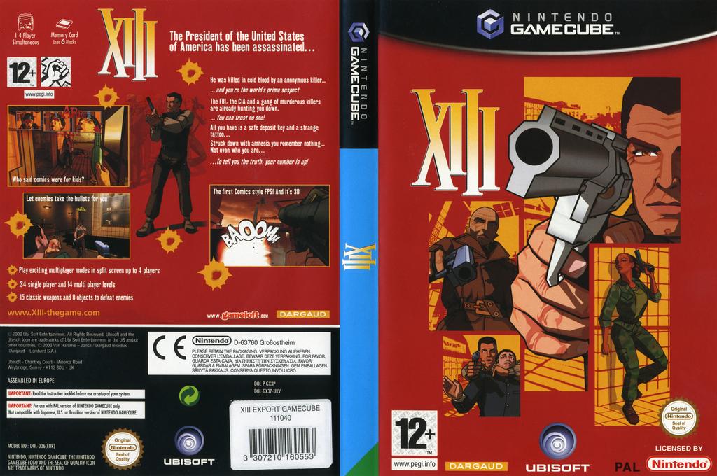 XIII Wii coverfullHQ (GX3P41)