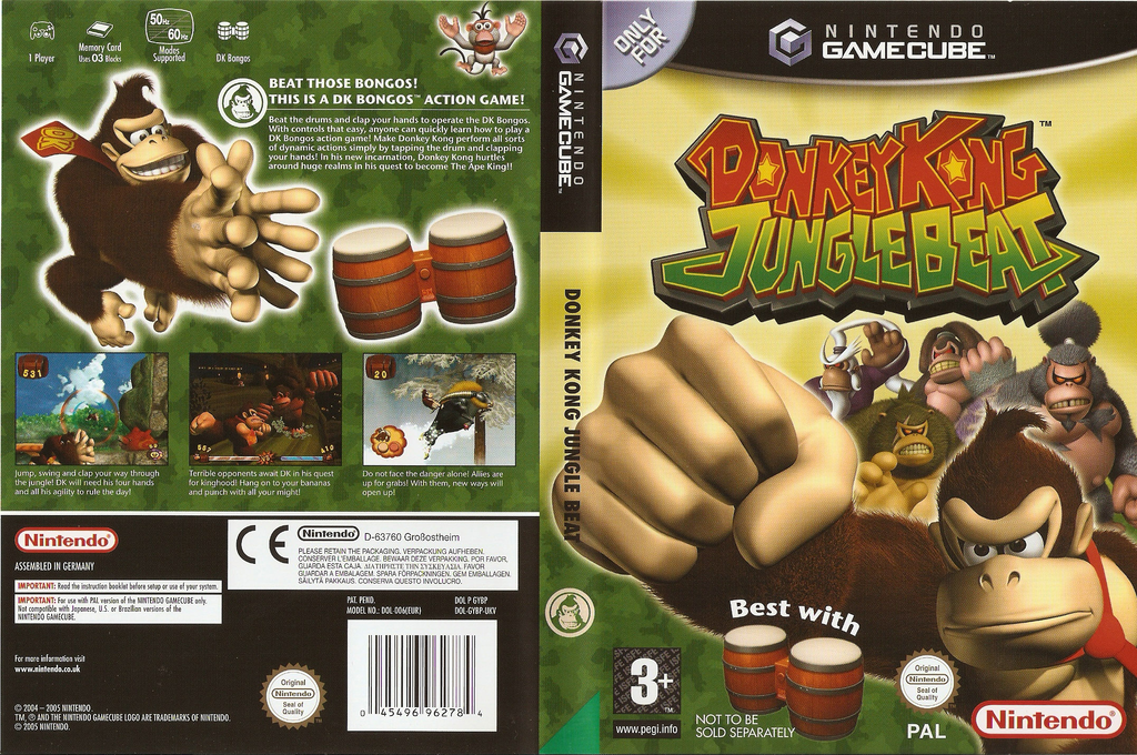 Donkey Kong Jungle Beat Wii coverfullHQ (GYBP01)