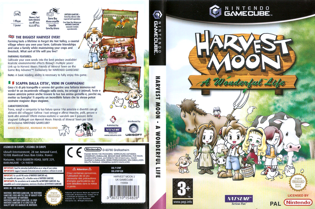 Harvest Moon: A Wonderful Life Wii coverfullHQ (GYWPE9)