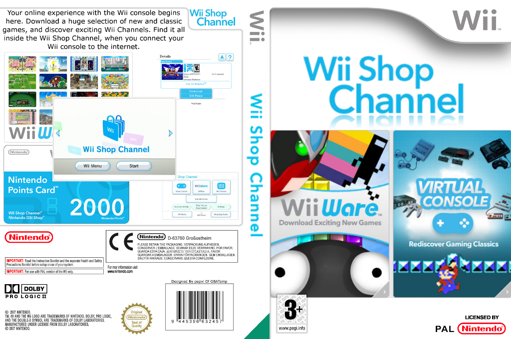 Wii Shop Channel Array coverfullHQ (HABA)