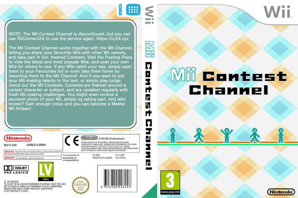 Check Mii Out Channel Wii coverfullHQ (HAPP)