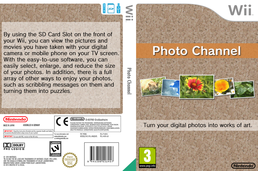 Photo Channel Wii coverfullHQ (HAYA)