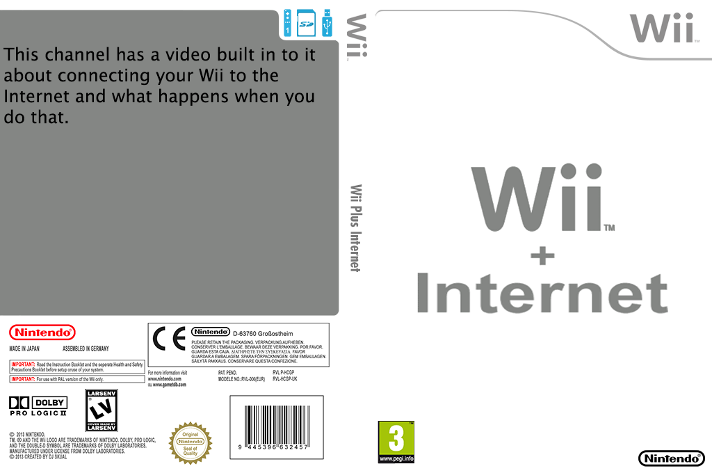 Wii + Internet Array coverfullHQ (HCGP)