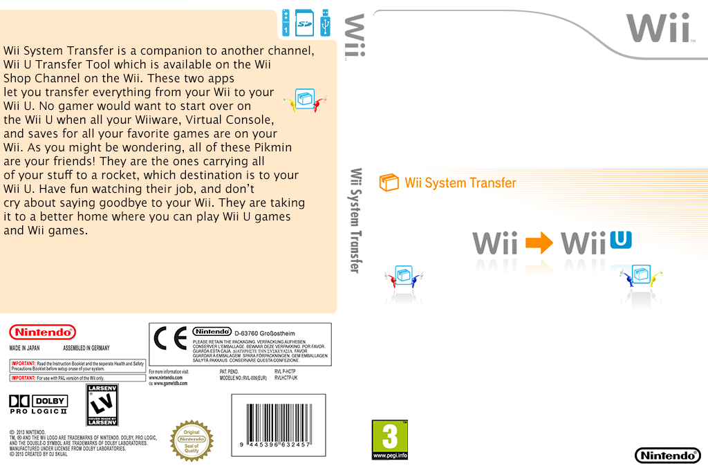 Wii System Transfer Wii coverfullHQ (HCTP)
