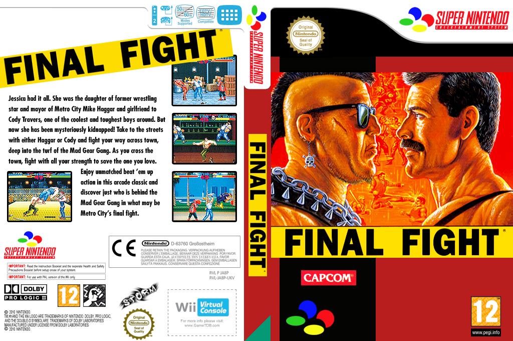 Final Fight Wii coverfullHQ (JA8P)