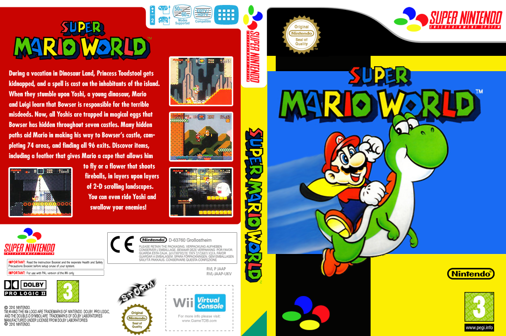 Super Mario World Wii coverfullHQ (JAAP)