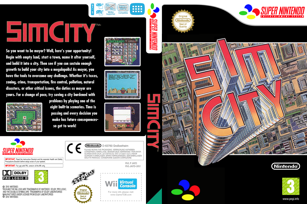 SimCity Wii coverfullHQ (JAFD)