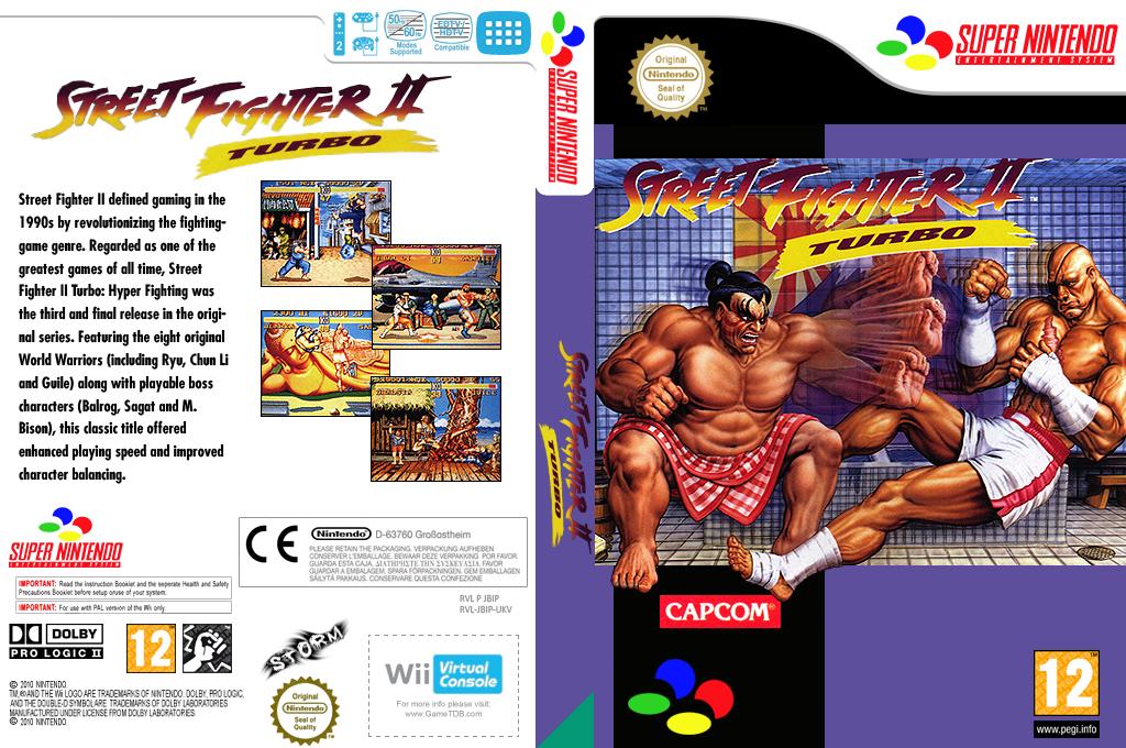 Street Fighter II Turbo: Hyper Fighting Wii coverfullHQ (JBIP)