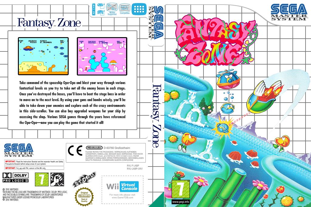 Fantasy Zone Wii coverfullHQ (LABP)