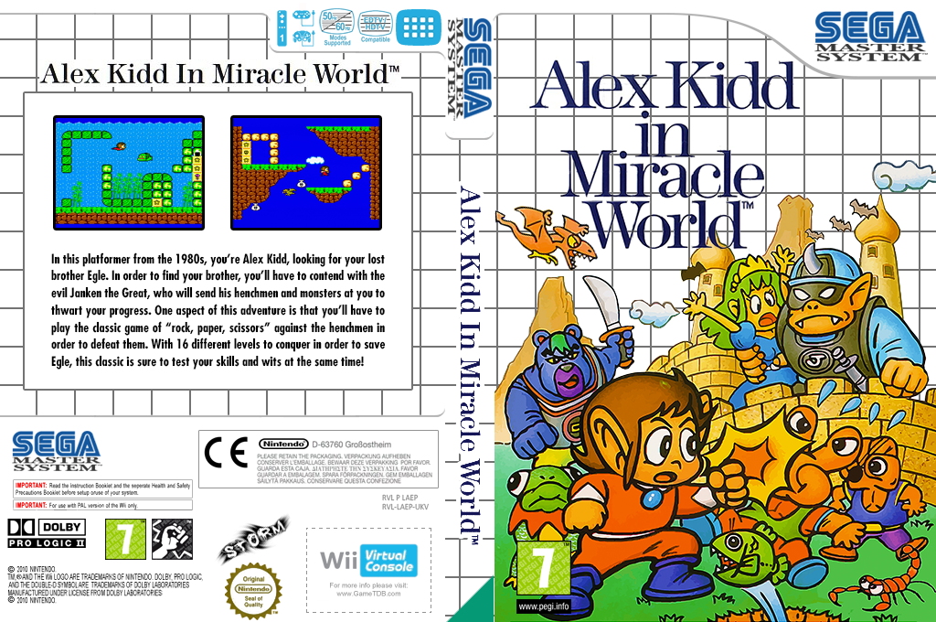 Alex Kidd in Miracle World Wii coverfullHQ (LAEP)