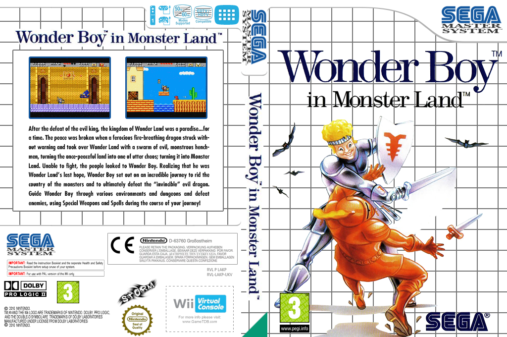 Wonder Boy in Monster Land Wii coverfullHQ (LAKP)
