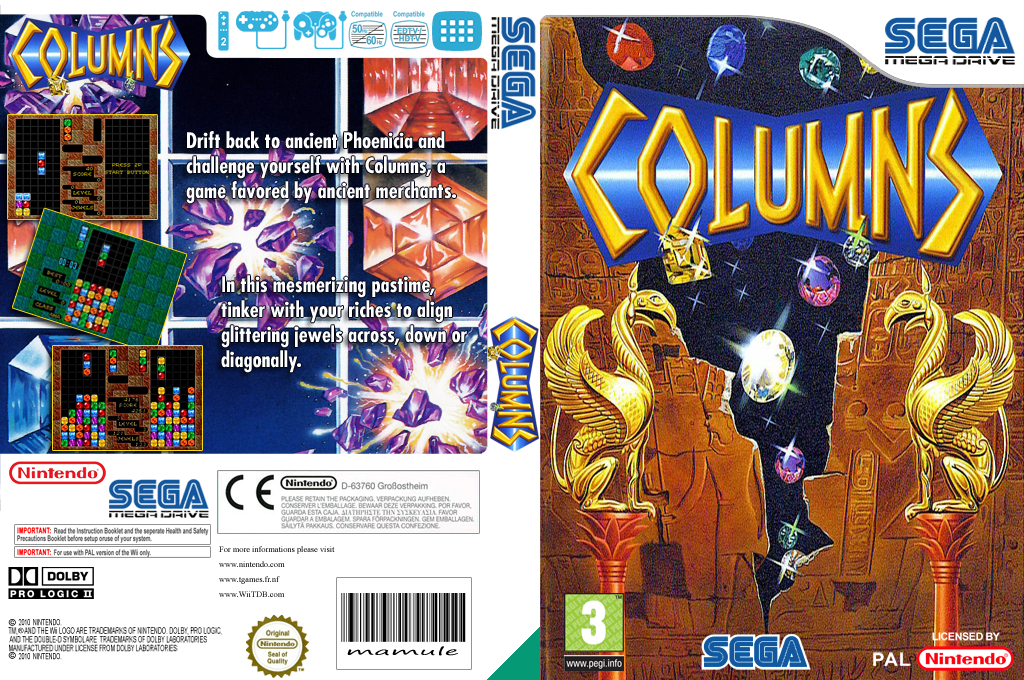 Columns Wii coverfullHQ (MABP)