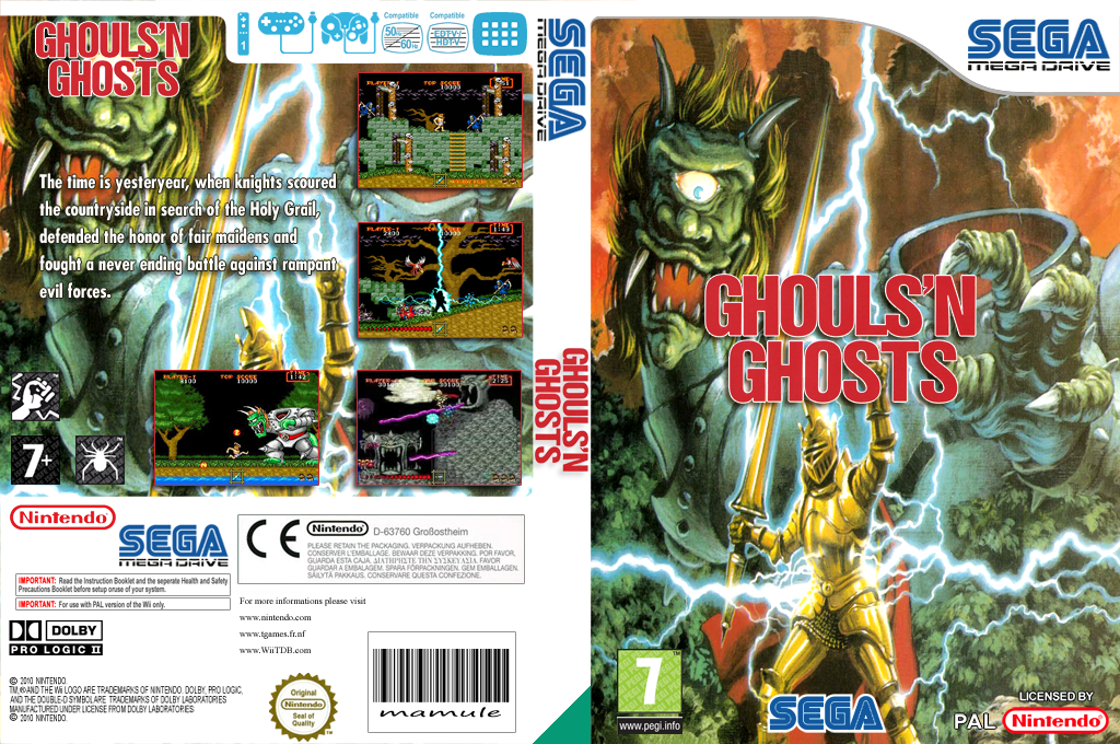 Ghouls'n Ghosts Wii coverfullHQ (MBJP)