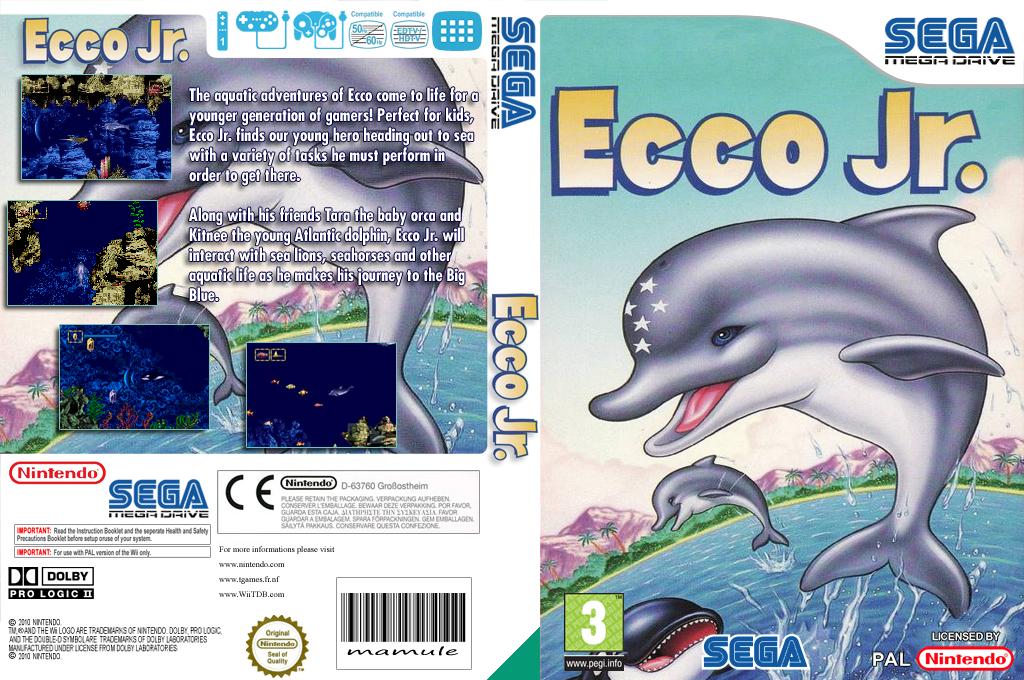 Ecco Jr. Wii coverfullHQ (MBXM)