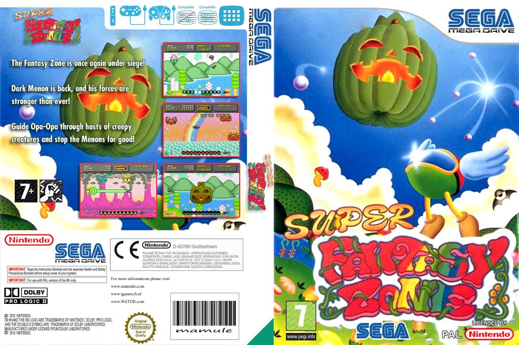 Super Fantasy Zone Wii coverfullHQ (MCEP)