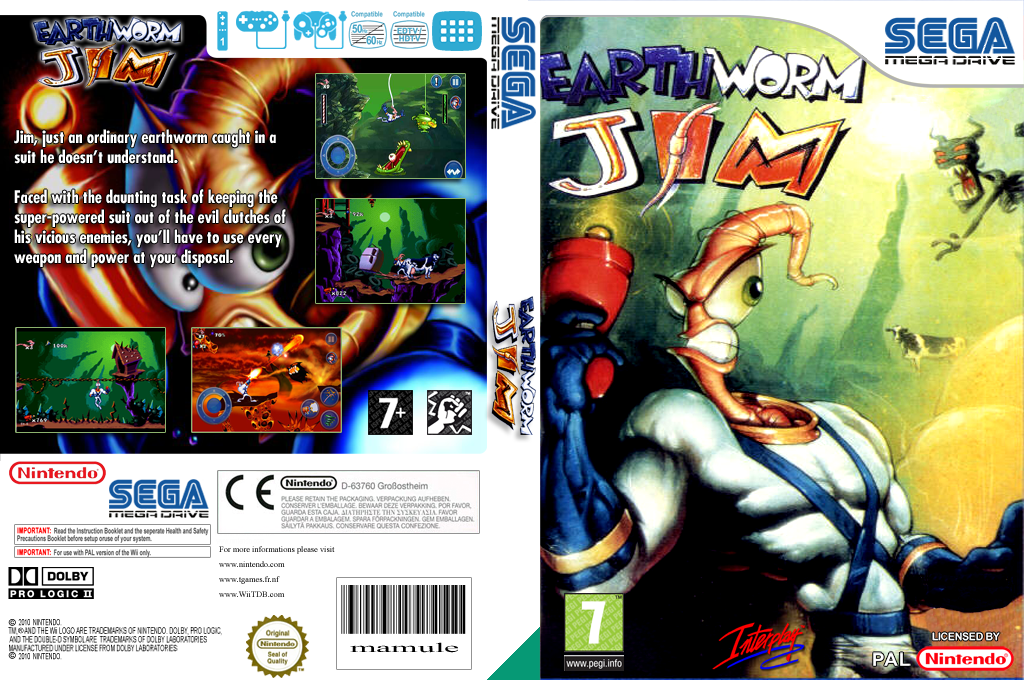 Earthworm Jim Wii coverfullHQ (MCPP)