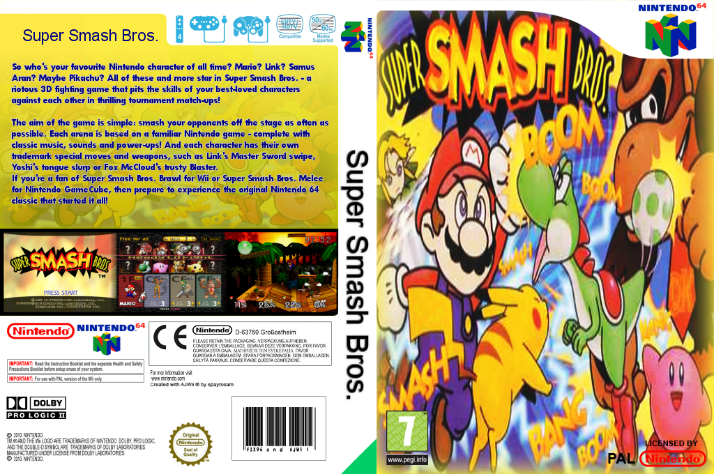 Super Smash Bros. Wii coverfullHQ (NALP)