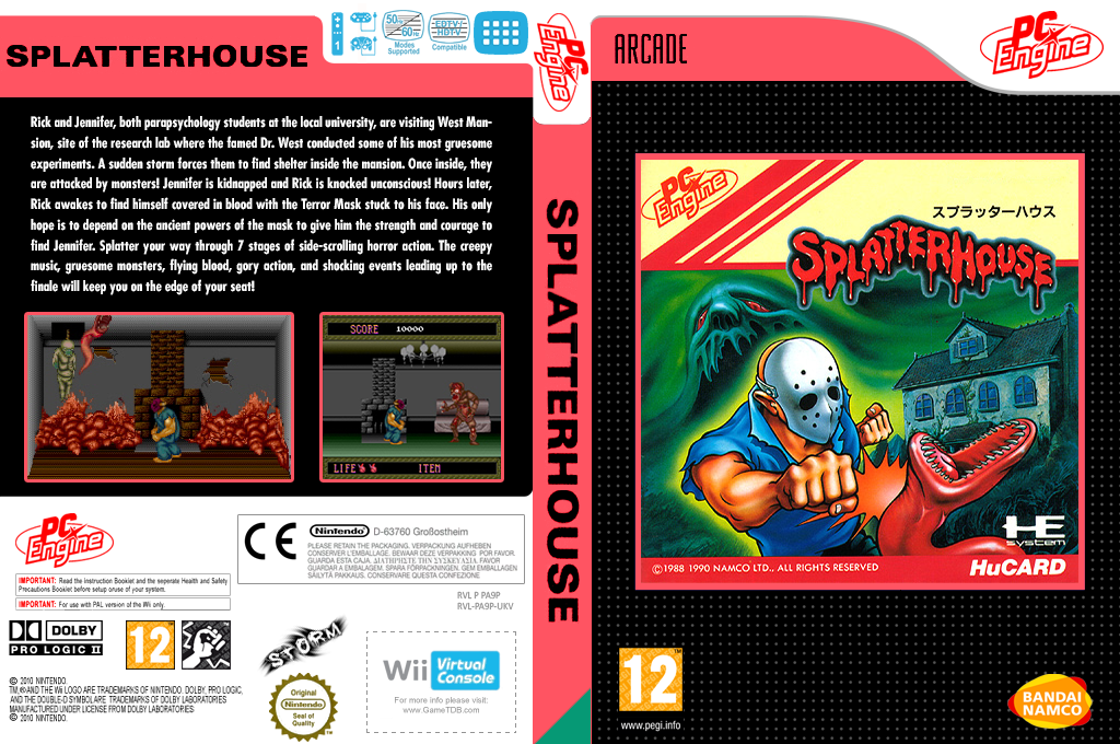 Splatterhouse Wii coverfullHQ (PA9P)