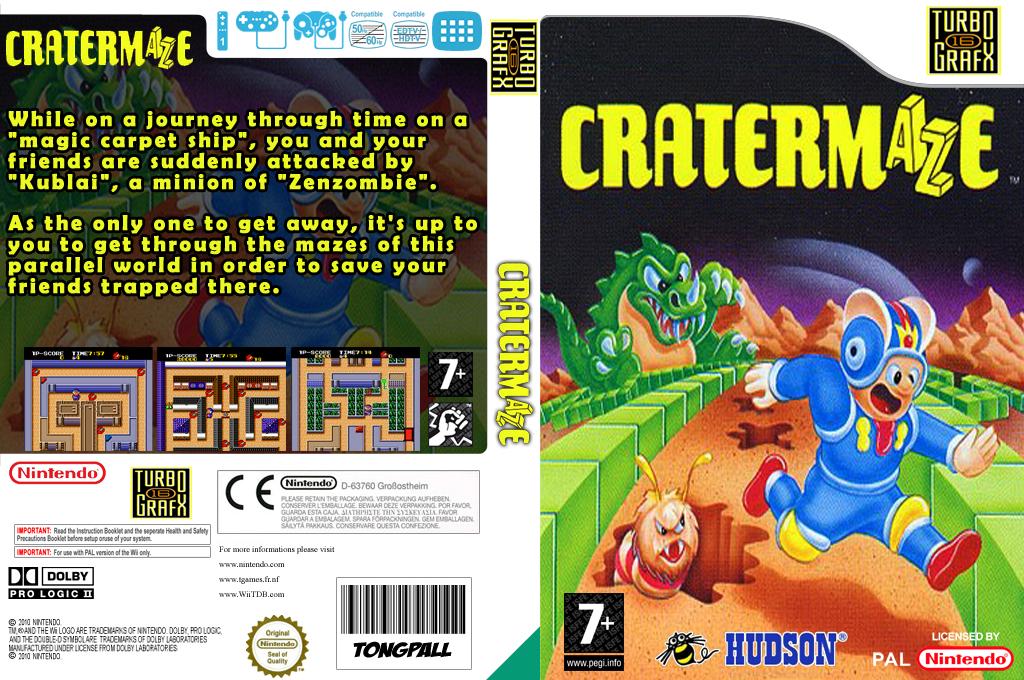Cratermaze Wii coverfullHQ (PB6P)